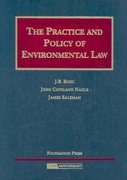 The Practice and Policy of Environmental Law 0 9781599410210 1599410214