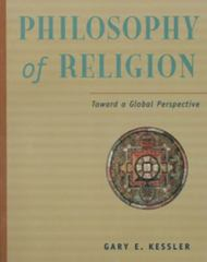 Philosophy of Religion in a Global Perspective 1st edition 9780534505493 053450549X