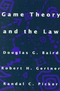 Game Theory and the Law 0 9780674341111 0674341112