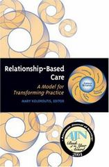 Relationship-Based Care 1st edition 9781886624191 1886624194