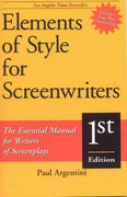 Elements of Style for Screenwriters 1st Edition 9781580650038 1580650031