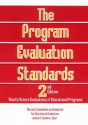 The Program Evaluation Standards 2nd edition 9780803957329 0803957327