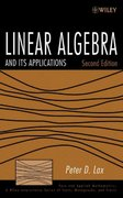 Linear Algebra and Its Applications 2nd Edition 9780471751564 0471751561