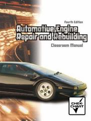 Automotive Engine Repair and Rebuilding (Chek Chart) Package 4th edition 9780130482051 0130482056