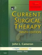 Current Surgical Therapy 9th edition 9781416034971 1416034978