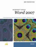 New Perspectives on Microsoft Office Word 2007, Brief 1st edition 9781423905806 1423905806