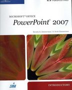 New Perspectives on Microsoft Office PowerPoint 2007, Introductory 1st edition 9781423905929 142390592X
