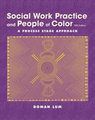 Social Work Practice and People of Color 5th edition 9780534509897 0534509894