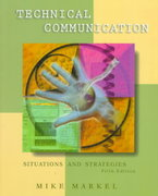 Technical Communication 5th Edition 9780312170875 0312170874