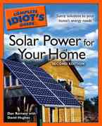 The Complete Idiot's Guide to Solar Power for your Home, 2E 2nd edition 9781592576432 1592576435