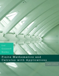 Finite Mathematics and Calculus with Applications 8th edition 9780321426512 0321426517