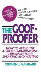 Goof Proofer 1st Edition 9780684838267 0684838265