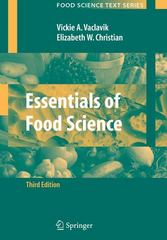 Essentials of Food Science 3rd edition 9780387699394 0387699392