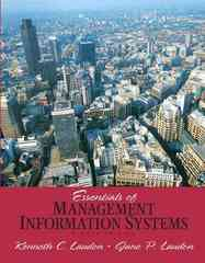 Essentials of Management Information Systems 8th edition 9780136025795 013602579X
