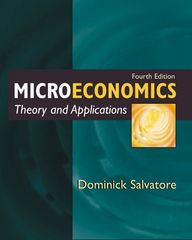 Microeconomics: Theory and Applications 4th Edition 9780195139952 019513995X