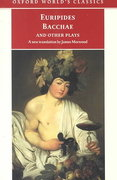 Bacchae and Other Plays 1st Edition 9780192838759 019283875X