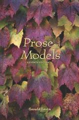 Prose Models 11th Edition 9780155064041 0155064045