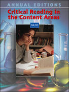 Annual Editions: Critical Reading in the Content Areas 04/05 1st edition 9780072970739 0072970731