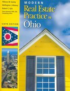 Modern Real Estate Practice in Ohio 6th edition 9780793187973 0793187974