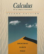 Calculus of a Single Variable 2nd edition 9780534939243 0534939244