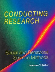 Conducting Research 1st edition 9781884585609 1884585604
