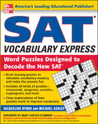 SAT Vocabulary Express 1st edition 9780071443265 0071443266