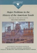 Major Problems in the History of the American South 2nd edition 9780395871409 0395871409