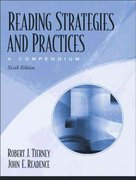 Reading Strategies and Practices 6th edition 9780205459094 0205459099
