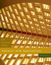 Calculus with Applications 9th edition 9780321421326 0321421329