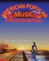 American Popular Music 1st edition 9780155062290 0155062298