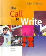 The Call to Write 4th edition 9780618923748 0618923748