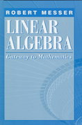 Linear Algebra 1st edition 9780065017281 0065017285