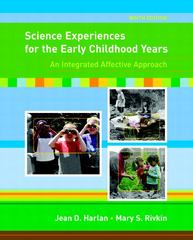 Science Experiences for the Early Childhood Years 9th Edition 9780131573093 0131573098