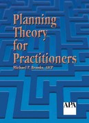 Planning Theory for Practitioners 1st Edition 9781884829598 1884829597