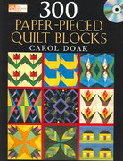 300 Paper-Pieced Quilt Blocks 0 9781564775344 1564775348