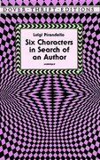 Six Characters in Search of an Author 0 9780486299921 0486299929