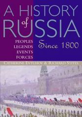 A History of Russia 1st edition 9780395660737 0395660734