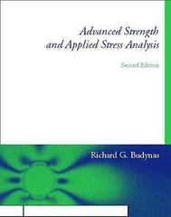 Advanced Strength and Applied Stress Analysis 2nd edition 9780070089853 007008985X