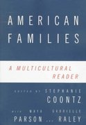 American Families 1st edition 9780415915748 0415915740