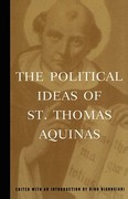 The Political Ideas of St. Thomas Aquinas 0 9780684836416 0684836416