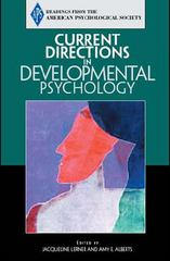 Current Directions in Developmental Psychology 1st edition 9780131895812 0131895818