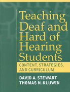 Teaching Deaf and Hard of Hearing Students 1st edition 9780205307685 020530768X