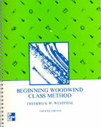 Beginning Woodwind Class Method 4th edition 9780697035653 0697035654