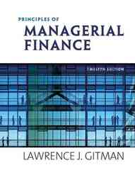 Principles of Managerial Finance 12th edition 9780321524133 0321524136