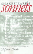 Shakespeare's Sonnets 1st Edition 9780300085068 0300085060