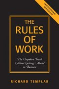 The Rules of Work 1st edition 9780131858381 0131858386