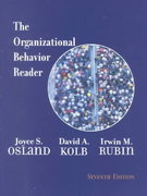 The Organizational Behavior Reader 7th edition 9780130265548 0130265543