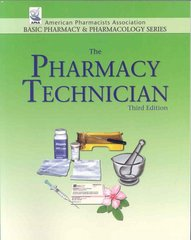 The Pharmacy Technician 4th edition 9780895827364 0895827360