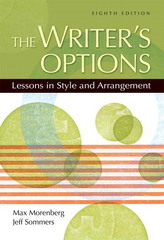 The Writer's Options 8th Edition 9780205533169 0205533167
