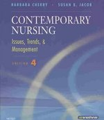 Issues and Trends Online for Contemporary Nursing (Access Code and Textbook Package) 4th edition 9780323053662 0323053661